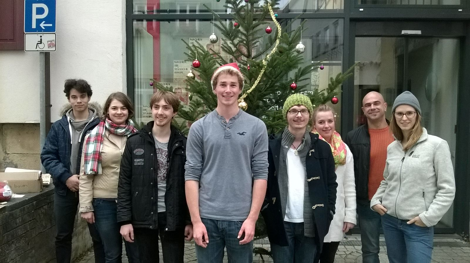 Gruppenbild Wunschbaum 2015
